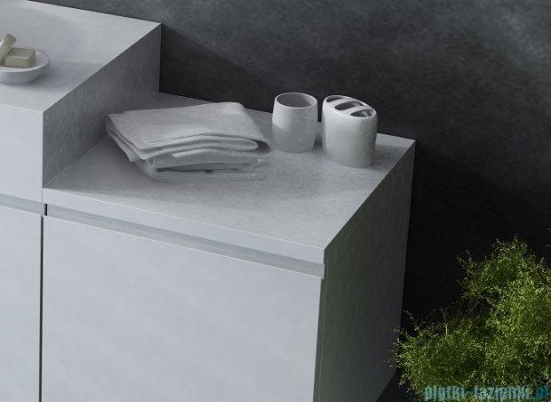 Antado Combi szafka dolna prawa 45x45x40 biała/ciemne drewno ALT-141/45-R-WS/dp