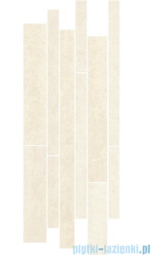 Paradyż Doblo bianco mix paski listwa 20x52