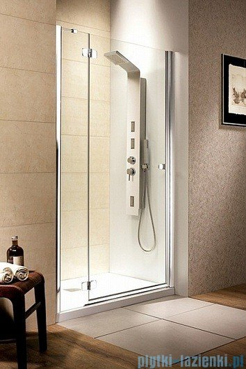 Fuenta DWJ Radaway Drzwi wnękowe 80 lewe szkło grafitowe 381012-05NL
