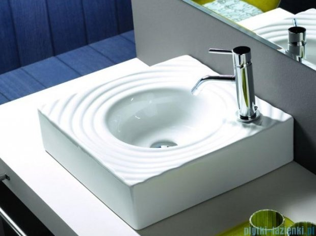 Bathco umywalka nablatowa Gota 45x45 cm 0081