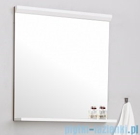 Antado Gabi lustro z półką 56x16cm biały połysk GBY-L60-WS