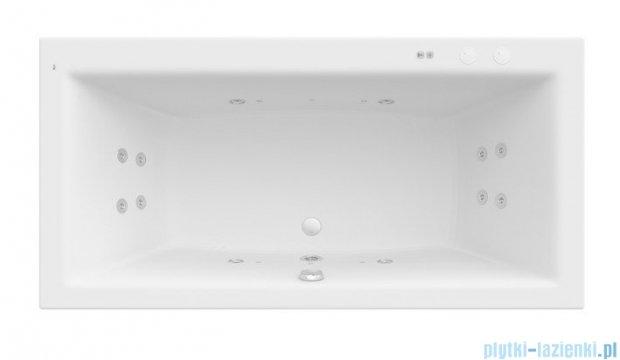 Roca Vita wanna 180x90cm z hydromasażem Smart Water Plus A24T085000