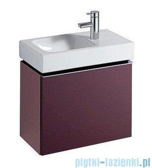 Keramag Icon Xs Szafka wisząca pod umywalkowa burgund połysk 840053