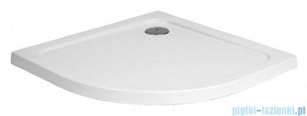 Polimat Standard brodzik akrylowy półokrągły posadzkowy 80x80cm 00786