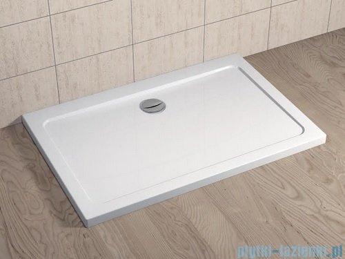 Radaway Kabina prysznicowa Essenza KDD 100x80 szkło brązowe + brodzik Doros D + syfon 32873-01-08NL