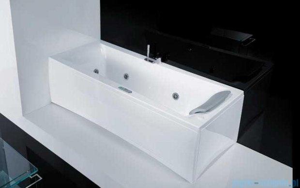"""Novellini Elysium """"Y"""" Wanna 180x80cm z hydromasażem wodnym Lewa Y518080RS0-A3K"""