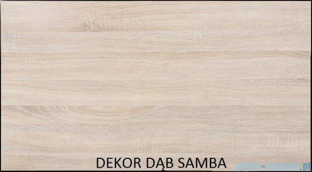 Antado Spektra ceramic szafka z umywalką 2 szuflady 62x43x50 dąb samba FDF-AT-442/65/2GT-62+UCS-AT-65