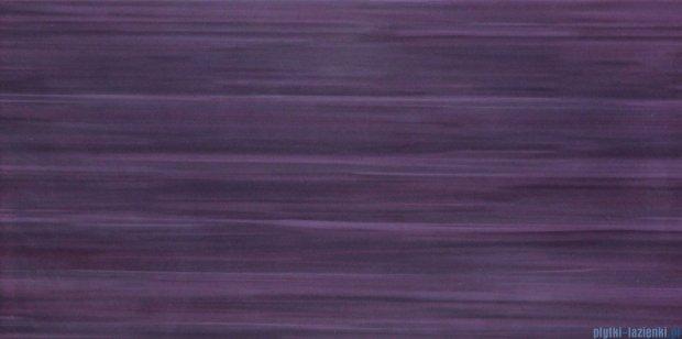 Tubądzin Wave violet płytka ścienna 22,3x44,8