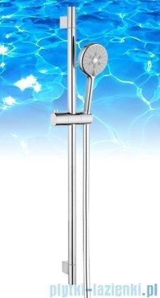 Omnires zestaw prysznicowy suwany 3-funkcyjny RIBBON-S