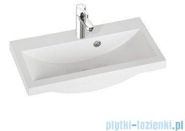 Marmorin umywalka nablatowa Talia 60, 60 cm z otworem biała 270060022011