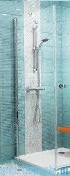 Ravak Ścianka prysznicowa stała SmartLine SMPS-90 Lewa chrom+transparent 9SL70A00Z1