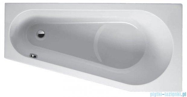 Riho Delta wanna asymetryczna lewa 160x80 z hydromasażem Hit Hydro 6+4+2 BB83H2