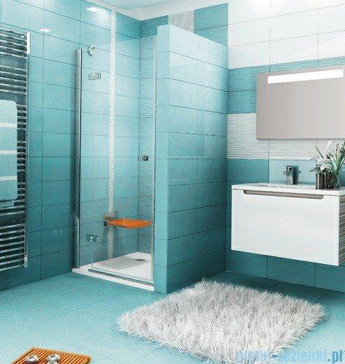 Ravak Drzwi prysznicowe SmartLine SMSD2-120 B lewe chrom+transparent 0SLGBA00Z1