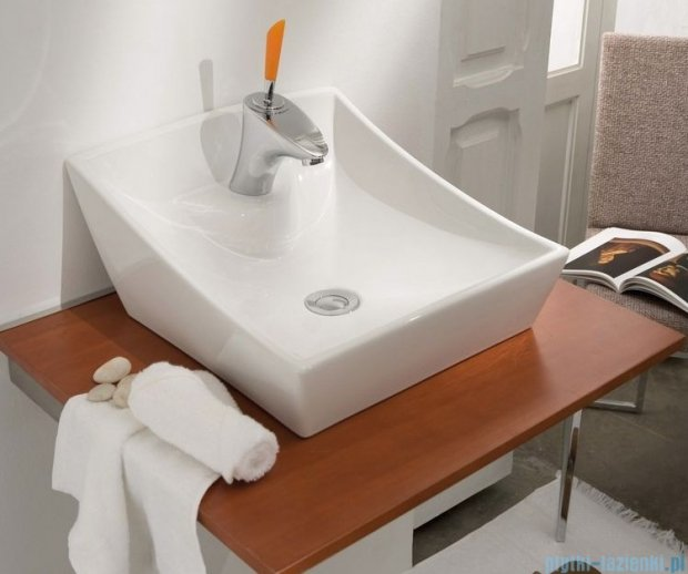 Bathco umywalka nablatowa Soria 40x41 cm 4002