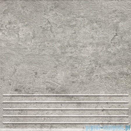 Domino Gris grafit stopnica 33,3x33,3