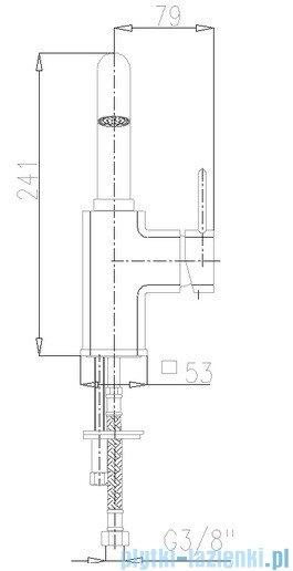 KFA Brylant bateria umywalkowa, kolor chrom 4303-615-00