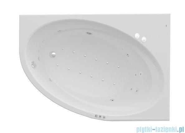 Roca Orbita wanna 160x100cm prawa z hydromasażem Smart WaterAir Plus A24T229000