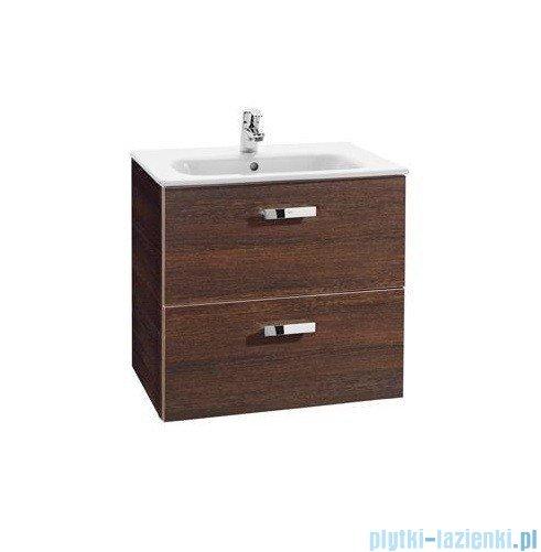 Roca Victoria Basic Zestaw łazienkowy Unik szafka z umywalką 80cm wenge A855852201