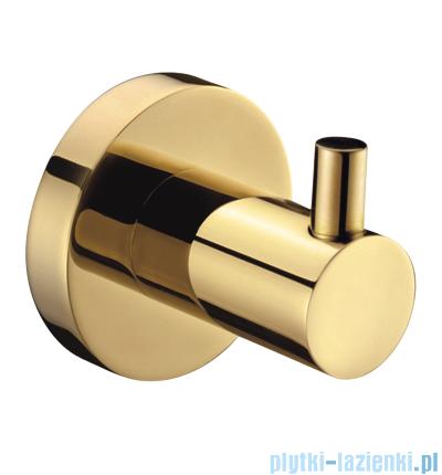 Omnires Modern Ałmo haczyk pojedynczy złoty 3101ZŁ