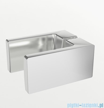 New Trendy Reflexa 80x200 cm drzwi wnękowe prawa przejrzyste EXK-1205