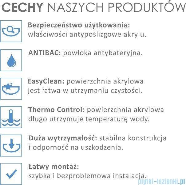 Besco Infinity 170x110cm Wanna asymetryczna Lewa #WAI-170-NL