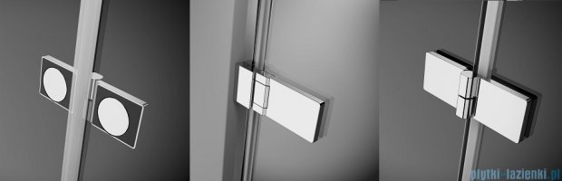 Radaway Arta Kdd B kabina 90x80cm szkło przejrzyste 386161-03-01L/386160-03-01R