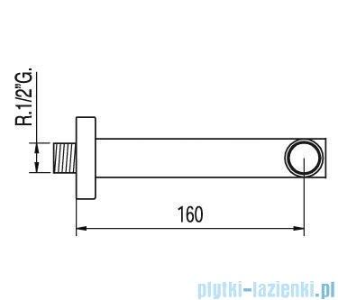 Tres Max-Tres Wylewka 16cm 1.61.170.02