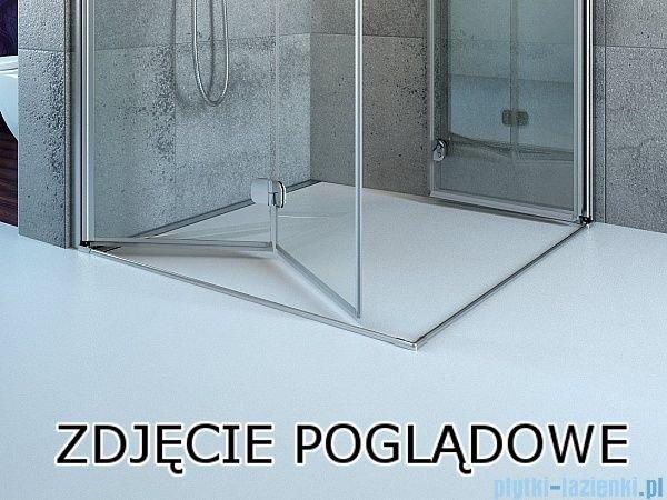 Eos KDJ Radaway kabina prysznicowa 80x80 prawa szkło przejrzyste 37513-01-01NR