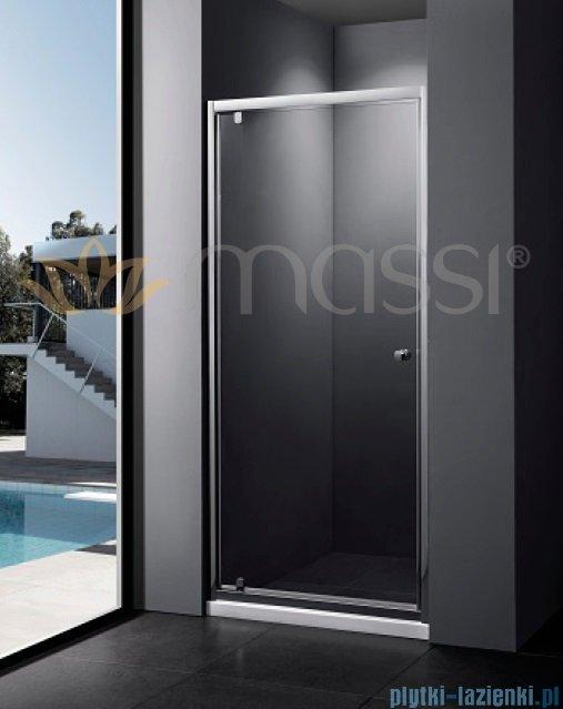 Massi Verre drzwi prysznicowe 80x185cm przejrzyste MSKP-FA406-80