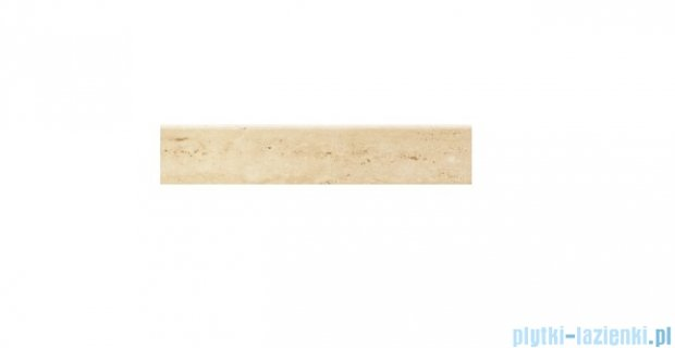 Cokół podłogowy Tubądzin Travertine 1 59,8x11,7