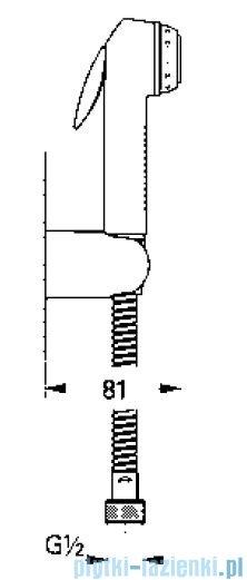 Grohe zestaw prysznica ręcznego DN 15 kolor: chrom/czarny  27812IK0