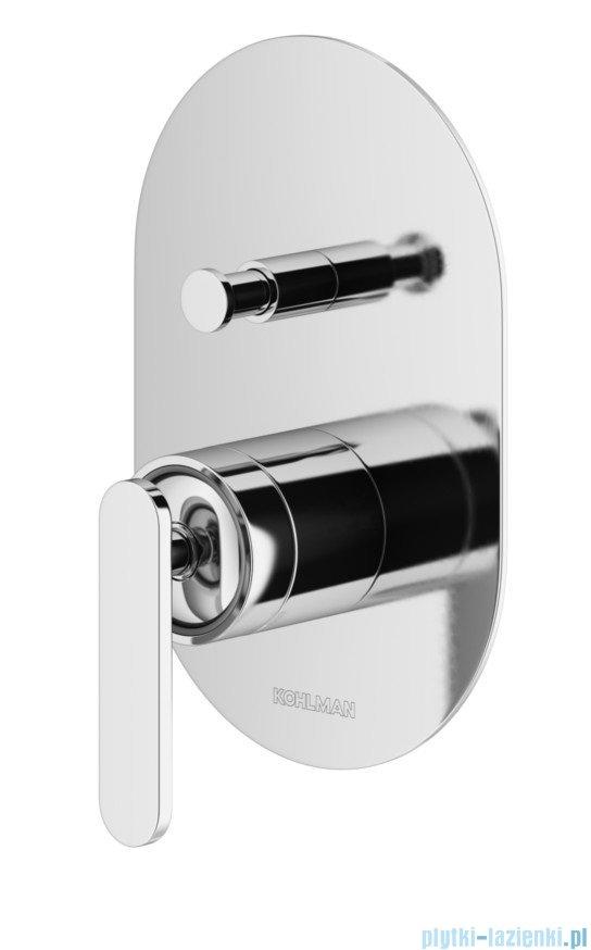 Kohlman Boxine zestaw prysznicowy chrom QW210BR30
