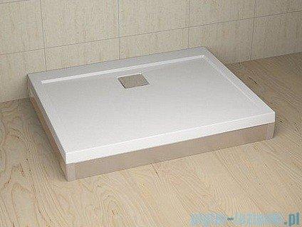 Radaway Obudowa do brodzika prostokątnego Argos D 140 aluminium chrom001-510134001