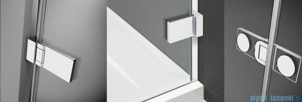 Radaway Arta Kdd I kabina 100x80cm szkło przejrzyste 386062-03-01L/386060-03-01R