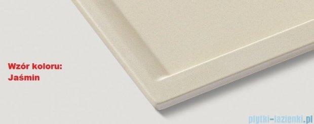 Blanco Zenar XL 6 S-F  Zlewozmywak Silgranit PuraDur komora prawa kolor: jaśmin   z kor. aut. i szklaną deską do krojenia 519311