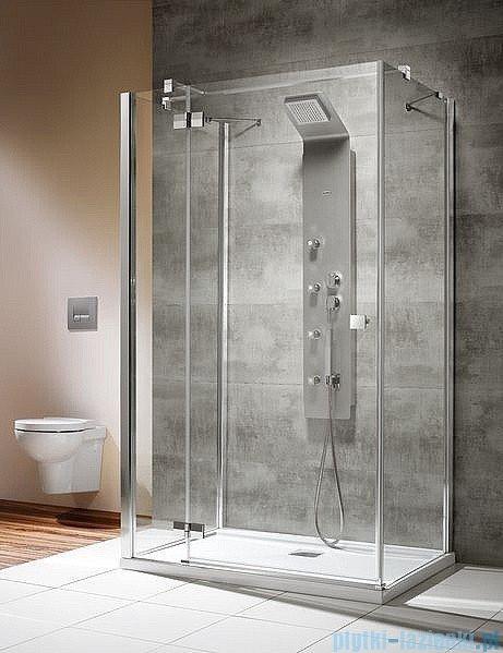 Radaway Kabina prysznicowa Almatea KDJ+S 80x80x80 lewa szkło przejrzyste 31532-01-01L