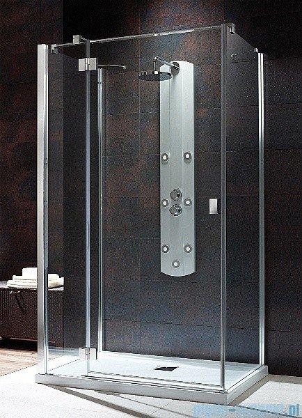 Radaway Kabina prysznicowa Essenza KDJ+S 80x90x80 lewa szkło przejrzyste + brodzik Doros D + syfon 32956-01-01L