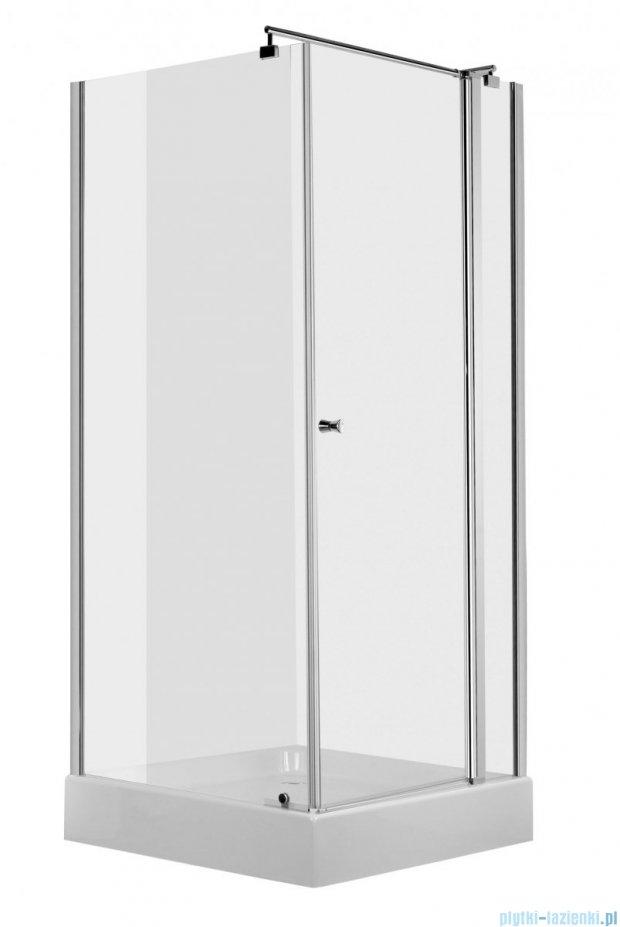 Deante Cubic Kabina kwadratowa z drzwiami uchylnymi 90x90x195cm KTI 043P