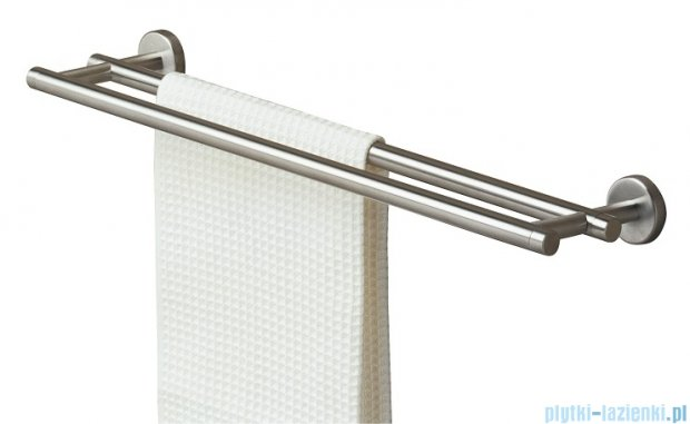 Tiger Boston Wieszak na ręcznik kąpielowy podwójny stal nierdzewna 3086.09