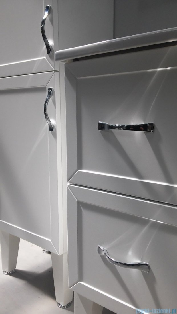Antado Rustic szafka podumywalkowa 80x38x62 biała RST-141/8-14