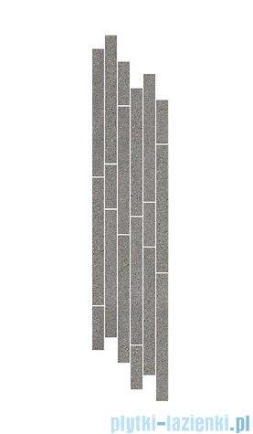 Paradyż Duroteq grafit mix paski listwa 14,8x71