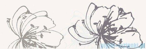 Paradyż Midian bianco kwiat A inserto ścienne 20x60