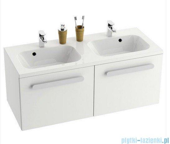 Ravak Szafka pod umywalkę SD 1200 Chrome biała/biała połysk X000000536