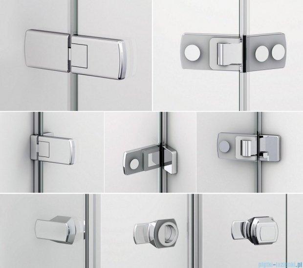 Sanswiss Melia ME32 Drzwi prysznicowe prawe do 200cm przejrzyste ME32PDSM21007