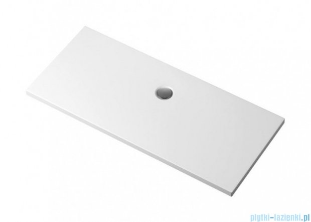 Polimat Pacyfik brodzik akrylowy posadzkowy 160x80cm 00783