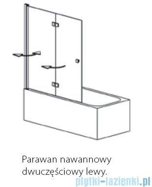Polimat Avran PNDL parawan nawannowy lewy 140cm 1201002
