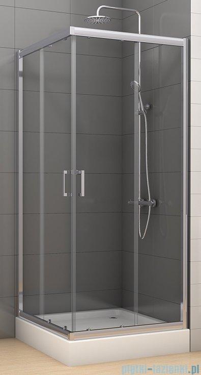 New Trendy Varia kabina prysznicowa 90x90x185cm szkło grafitowe K-0228