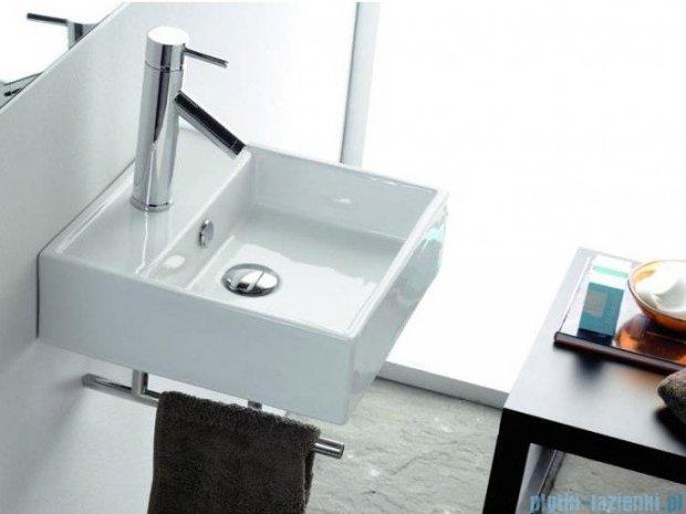 Bathco umywalka nablatowa Gomera 39x39 cm 0017D