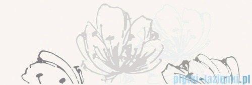 Paradyż Midian bianco kwiat inserto ścienne 20x60