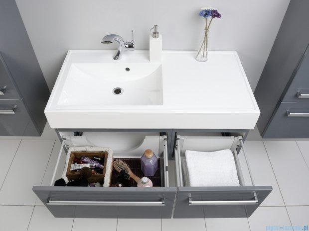 Antado Variete szafka z umywalką, wisząca 100 szary połysk FM-442/6-K917 + FM-442/4-K917 + UNAM-1004L